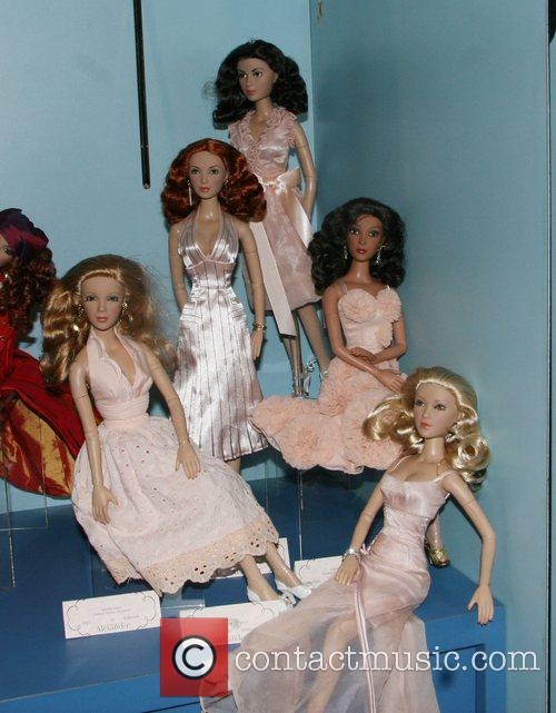 Desperate Housewife Dolls 'Toy Fair 2008' held at...