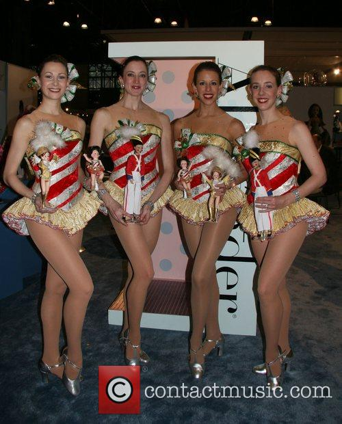 Rockette Dolls 'Toy Fair 2008' held at The...