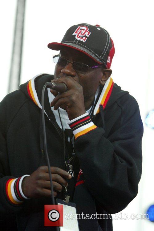 Mambo Sauce performing at Earth Day at The...