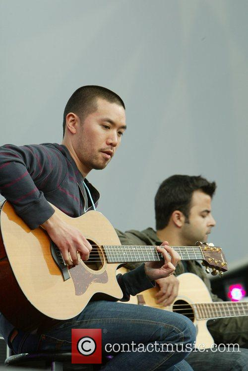 OAR performing at Earth Day at The National...