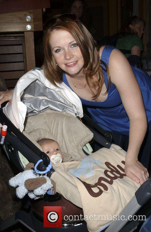 Meilissa Joan Hart and baby, Braydon Wilkerson The...