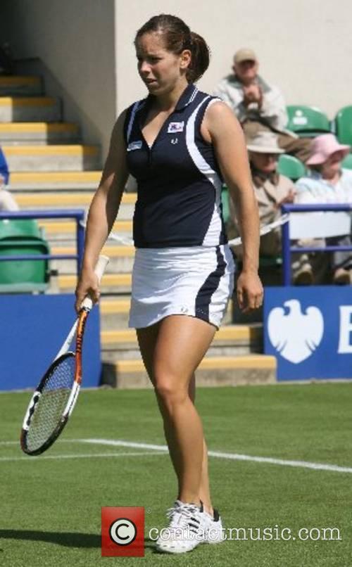 Katie O'Brien (GB) in the final qualifying round...