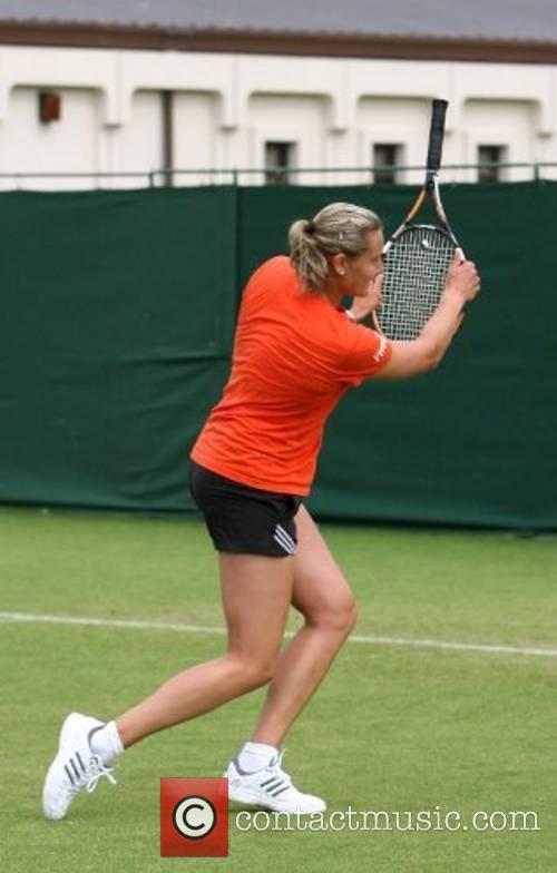 2007 International Womens Tennis Open - Practice at...