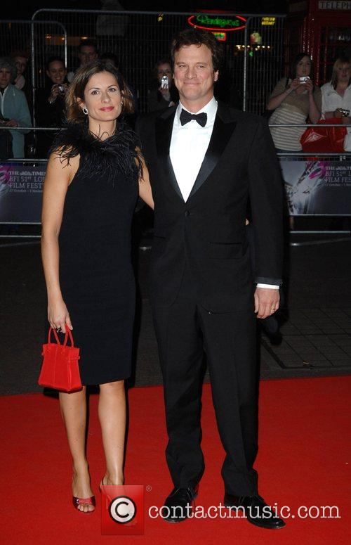 Livia Firth and Colin Firth  The Times...