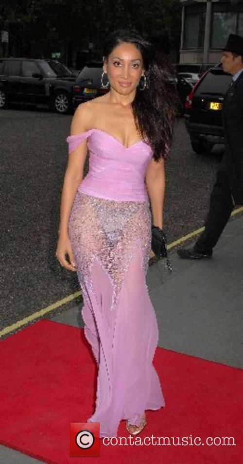 Sofia Hayat Eastern Eye Asian Business Awards 2007 at the Hilton
