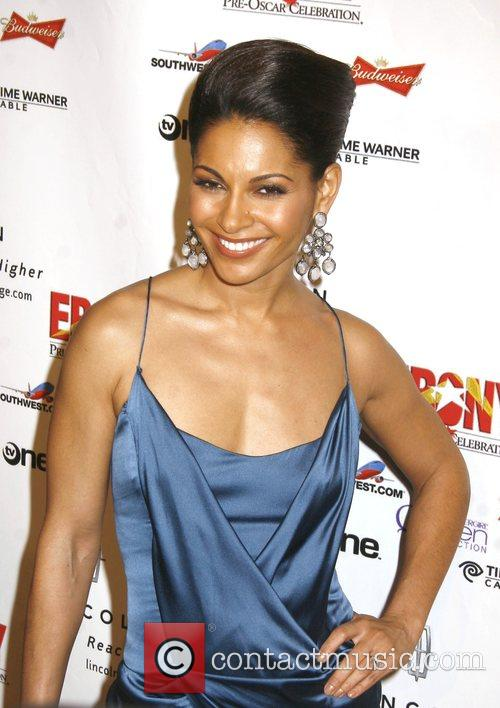 Salli Richardson Ebony Pre-Oscar Celebration - Take 4...