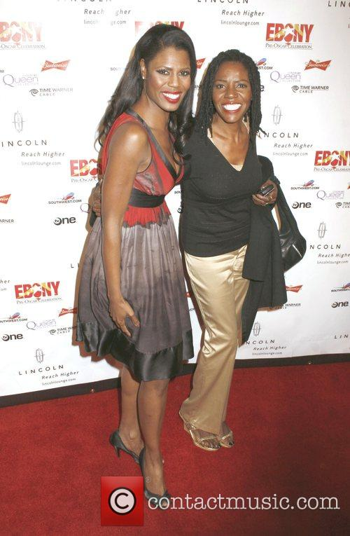 Omarosa Manigault-Stallworth and Guest Ebony Pre-Oscar Celebration -...