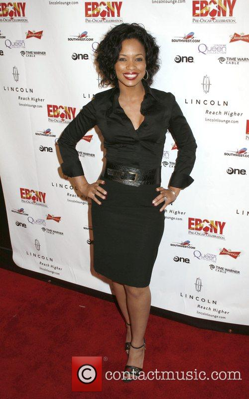 Karrine Steffans Ebony Pre-Oscar Celebration - Take 4...