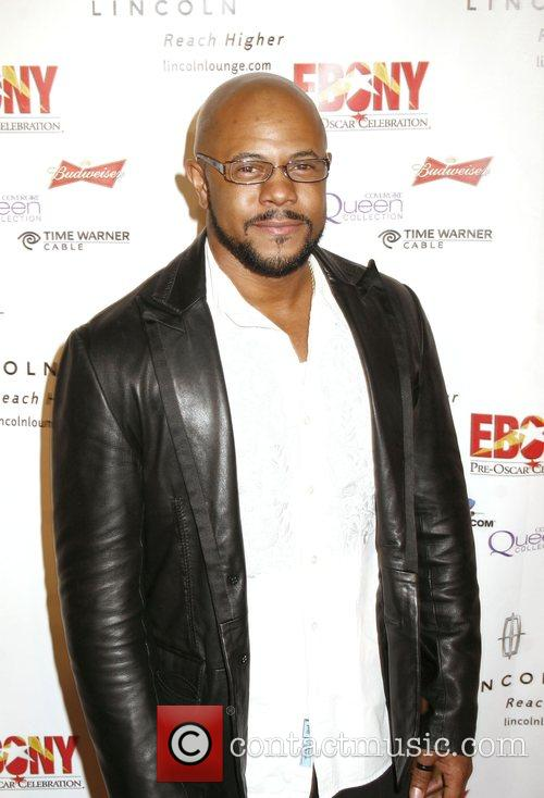 Rockmond Dunbar Ebony Pre-Oscar Celebration - Take 4...