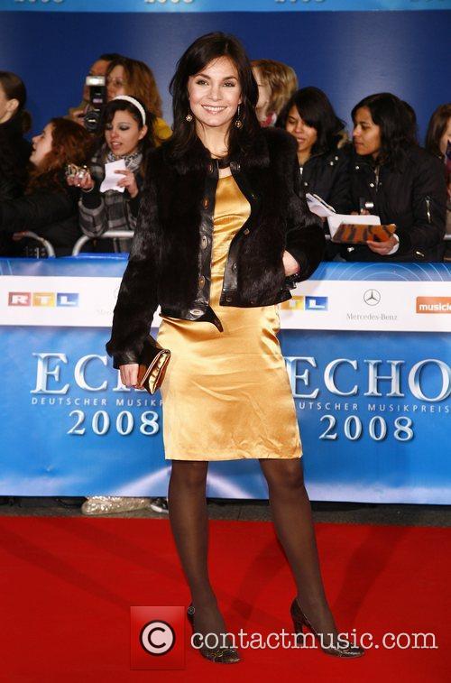 Nadine Warmuth Echo Deutscher Musikpreis 2008 Awards at...