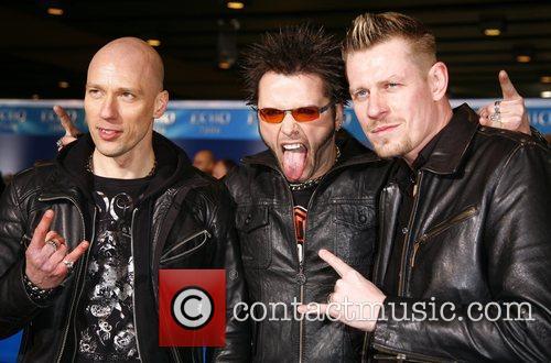 Oomph! Echo Deutscher Musikpreis 2008 Awards at ICC...