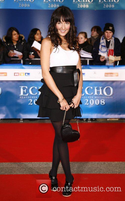 Johanna Klum Echo Deutscher Musikpreis 2008 Awards at...