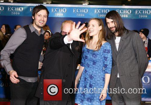 Wir sind Helden Echo Deutscher Musikpreis 2008 Awards...