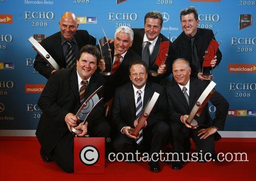 Kastelruther Spatzen Echo Deutscher Musikpreis 2008 Awards at...