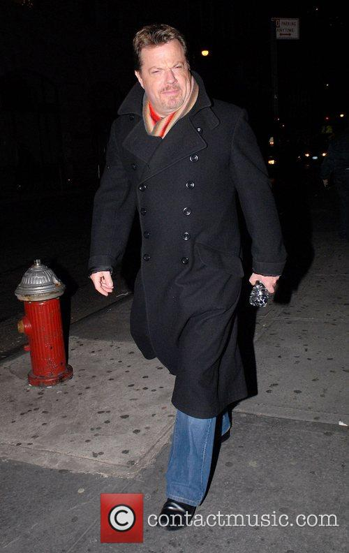 Eddie Izzard  leaving the Union Square Theatre...