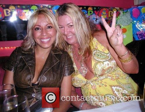 Marsha H.B.and Punkin Pie Eden Alpert's birthday bash...