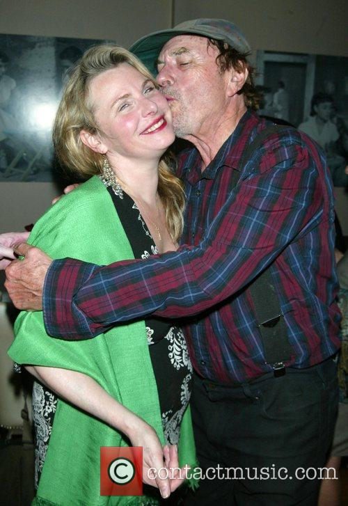 Angelica Torn and Her Father Rip Torn 4