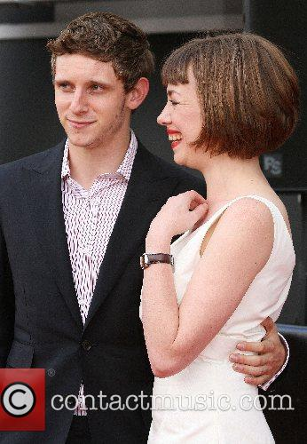 Jamie Bell, Hannah Mcgill, Chairwoman Of Edinburgh International Film Festival and Attend The Premiere Of 'hallam Foe' During This Year's 61st Edinburgh International Film Festival 6