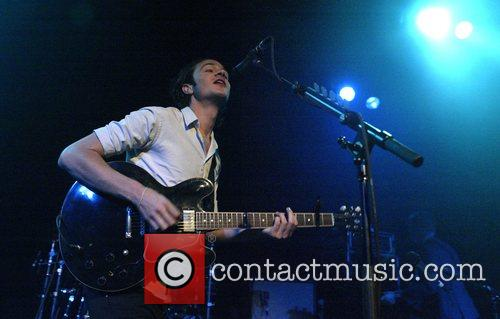 The Editors performing live in concert at the...