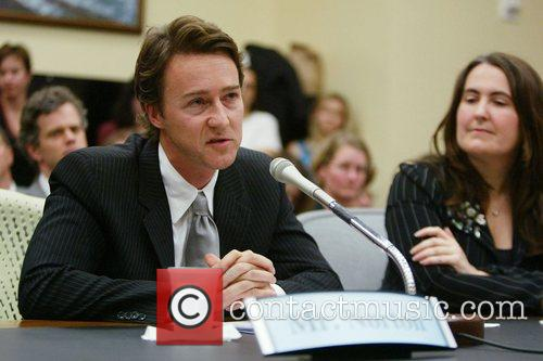 Edward Norton and Michelle Moore 11