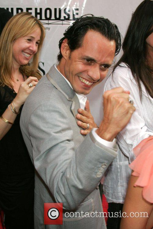 Marc Anthony New York Premiere of 'El Cantante'...