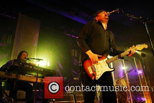 Elbow performing live at Leeds Metropolitan University