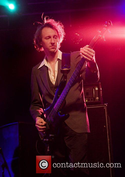 Electric Six performing at Liverpool Carling Academy