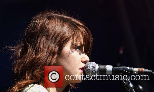 Performing live at the Electric Gardens Festival 2007...
