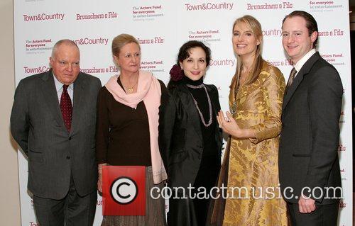 Tom and Eveline Peardon, Bebe Neuwirth, Susannah Peardon...