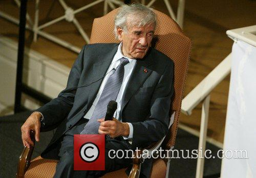 Eli Wiesel winner of the Nobel Peace Prize...