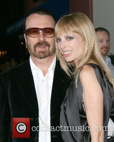 Dave Stewart and wife World Premiere of 'Elizabeth:...