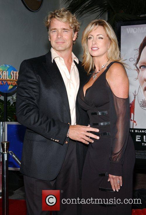 John Schneider and Elly Schneider Film premiere of...