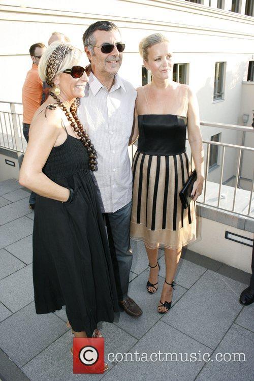 Sabine Christiansen, Norbert Medus, Sabine Nedelchev Elle Cocktail...