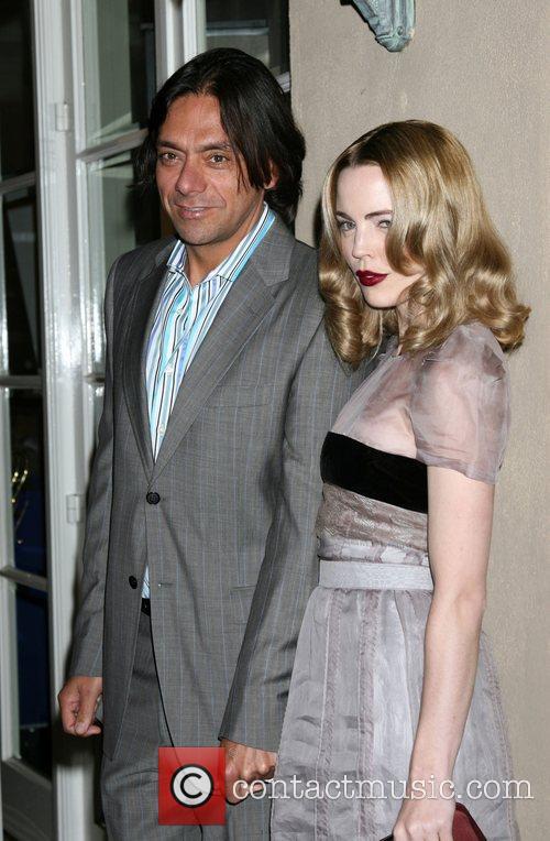 Melissa George and husband Claudio Dabed  Elle...
