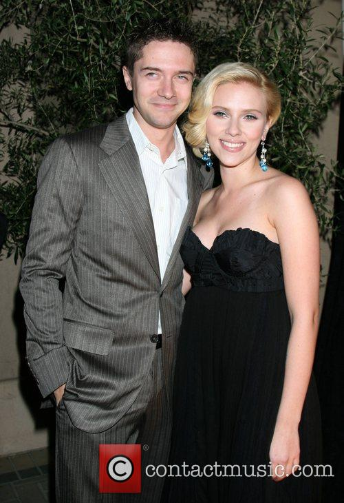 Topher Grace and Scarlett Johansson Elle hosts the...