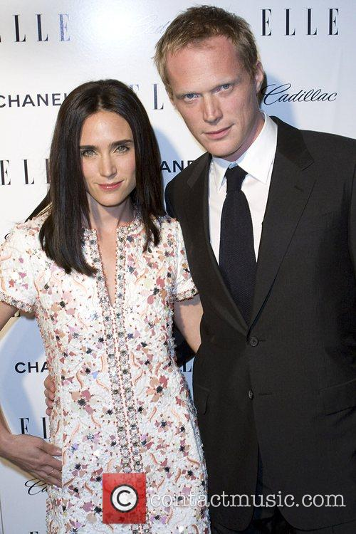 Jennifer Connelly and Paul Bettany Elle hosts the...