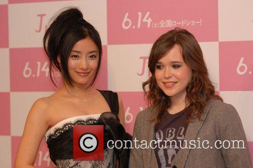 ellen page promotes the release of 'juno' in japan at the imperial hotel 5132644