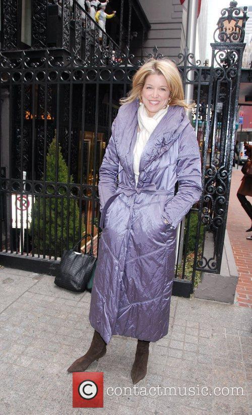 Paula Zahn arrives at a luncheon for Ellen...