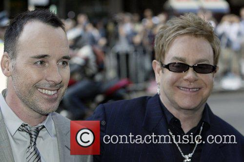 Elton John, David Furnish and Sir Elton John 2
