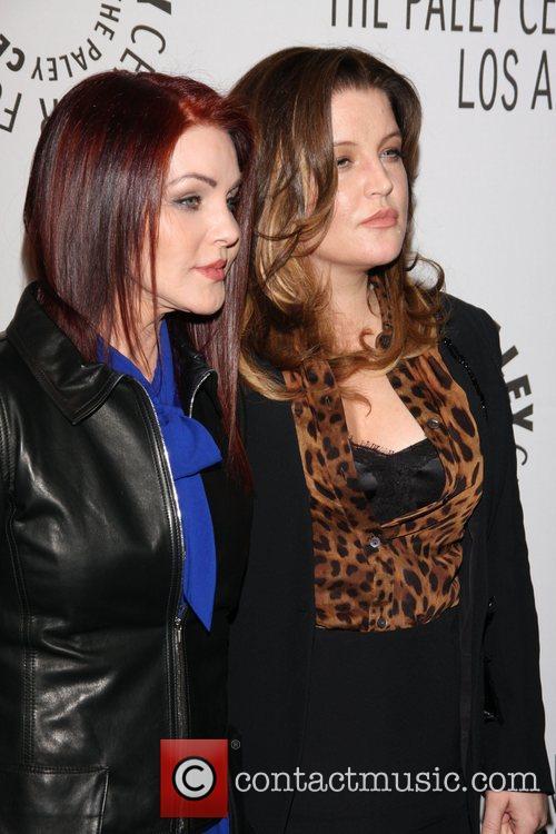 Priscilla Presley and Lisa Marie Presley 4