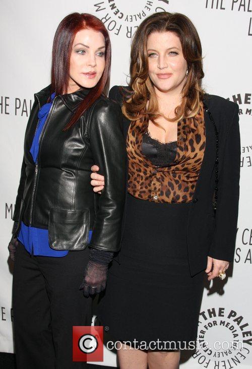 Priscilla Presley and Lisa Marie Presley 10