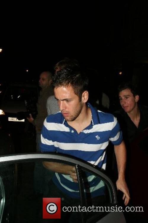 Joe Cole leaving Embassy Night club