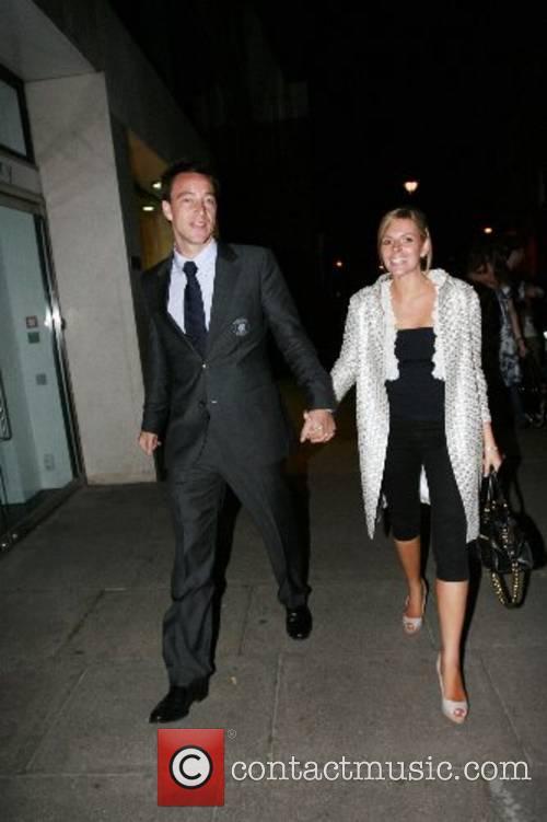 John Terry and Toni Poole leaving Embassy Night...
