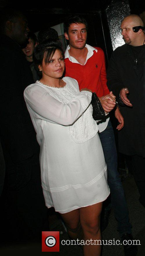 Jade Goody and Jack Tweedy