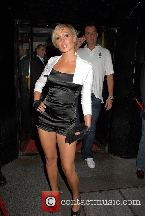 Chanelle Hayes at Embassy London, England