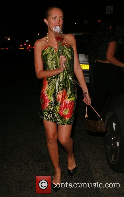 Aisleyne Horgan-Wallace outside Embassy nightclub