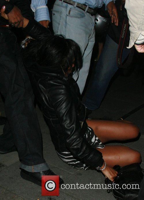 Charlie Uchea's friend leaves Embassy nightclub where she...