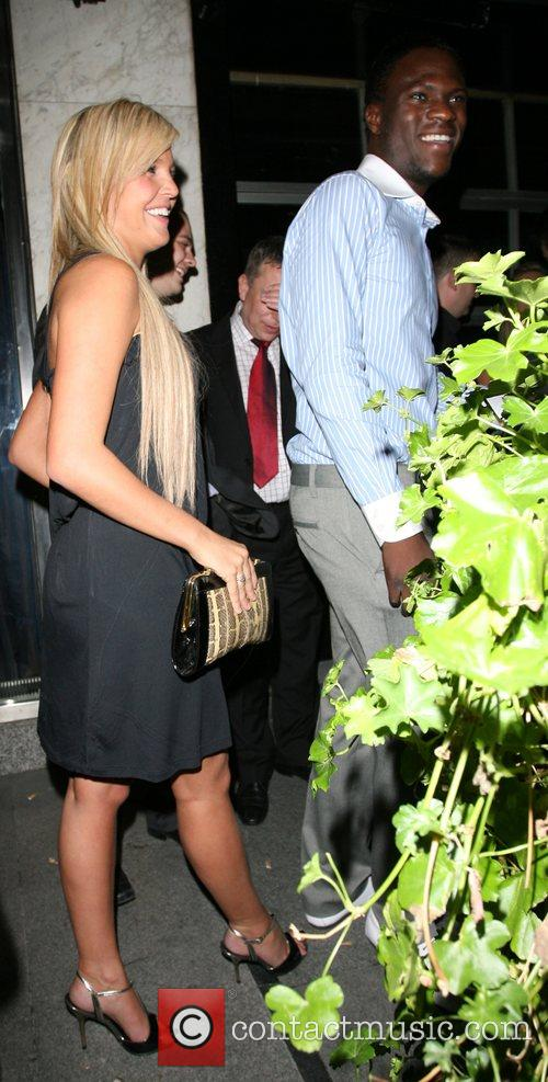 Danielle Lloyd and Brian Belo,  leaving the...