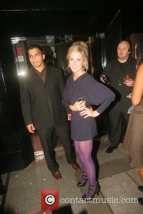 Emily Parr Leaving the Big Brother reunion at...