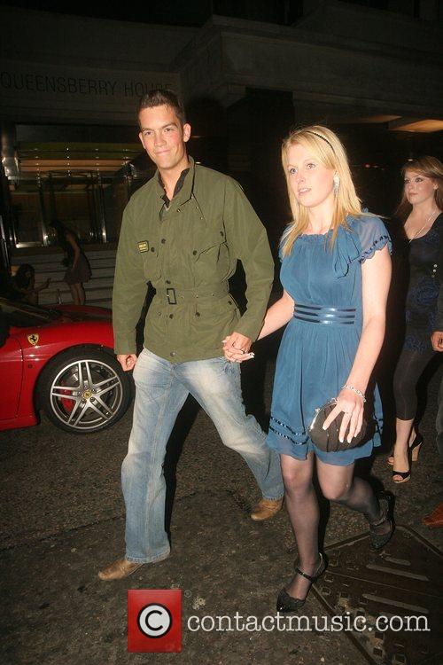 Glynn Wise Leaving the Big Brother reunion at...